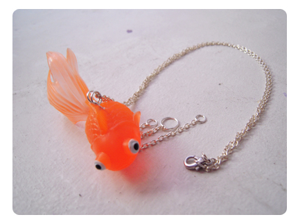 Collier - Blop le Poisson