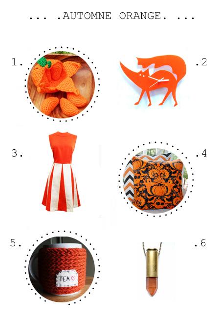 Peelable Orange Amigurumi : AUTOMNE ORANGE etsy selection